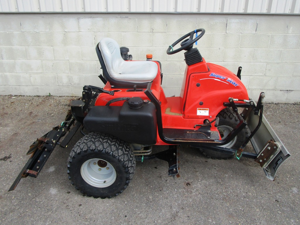 Smithco Lawn Mower Parts : Smithco super star wd bunker rake cutter